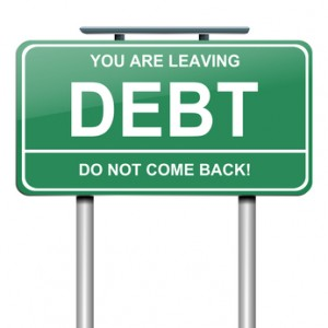 leaving debt behind
