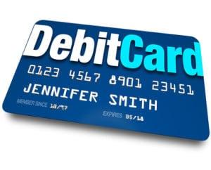 Instant approval debit card