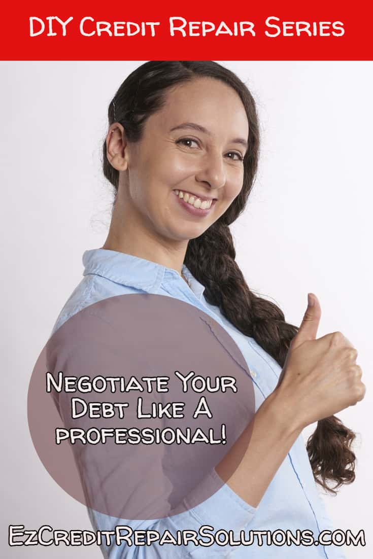 negotiate Your Debt Like A Professional